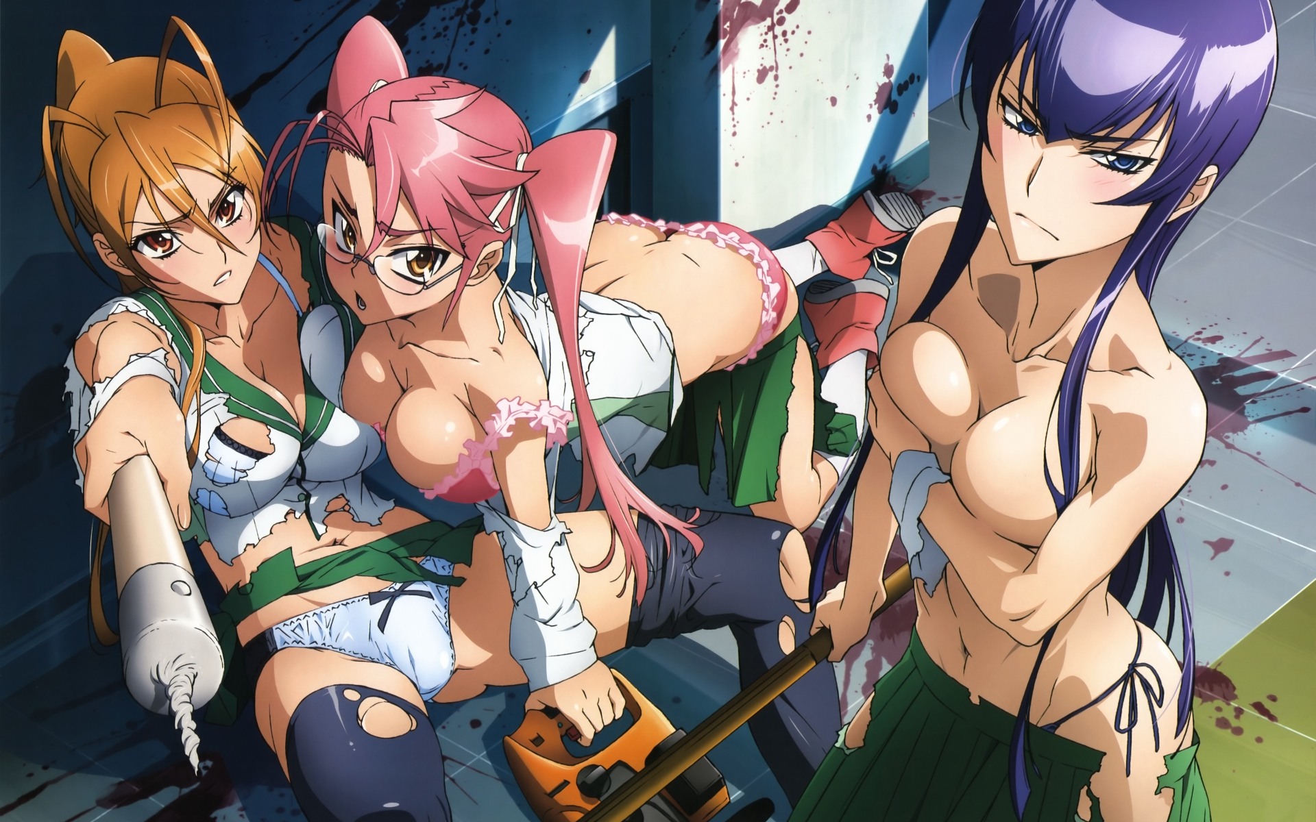 High School of the Dead completo [mp4][sin-cen][sub-es]
