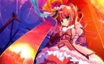 Konachan.com - 62128 akata_itsuki blue_eyes moon sword underwear weapon