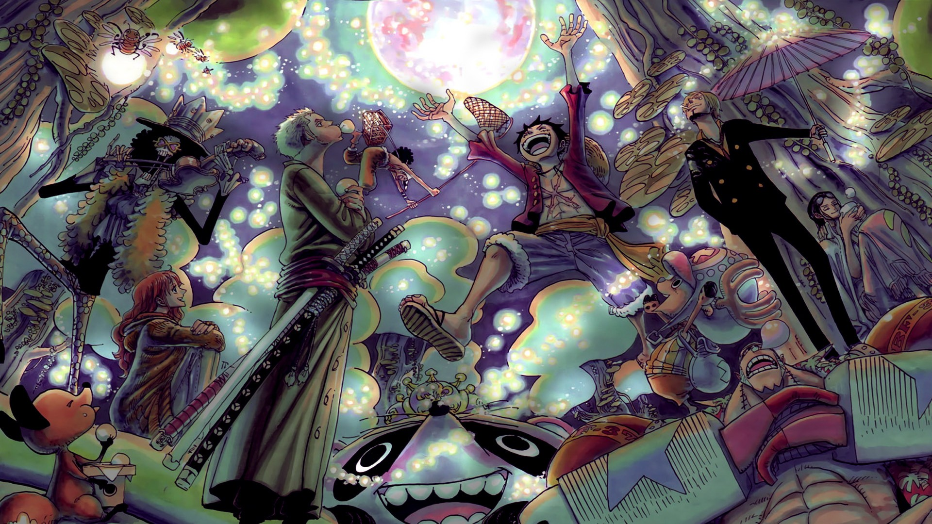 Exelwallz Anime Wall World: Console.Writeline(¨One Piece HD !¨)