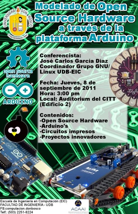 Modelado de Open Source Hardware a través de la plataforma Arduino