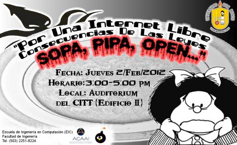 Conversatiro de SOPA, PIPA, OPEN