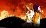 art autumn anime images background wallpaper