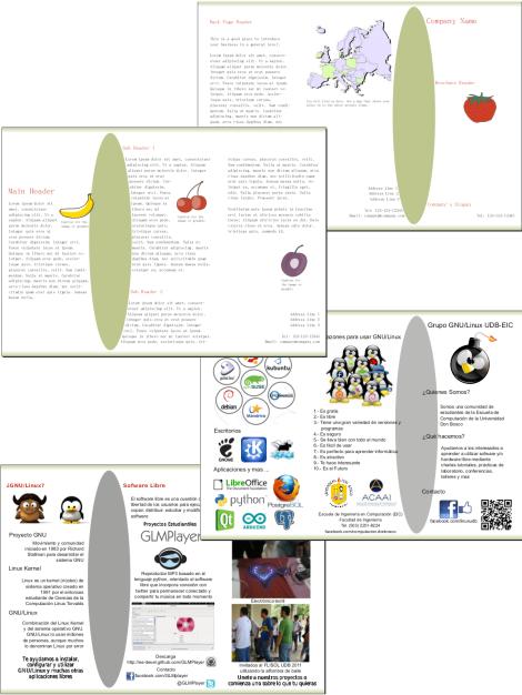Ejemplo de documento creado a partir de plantilla