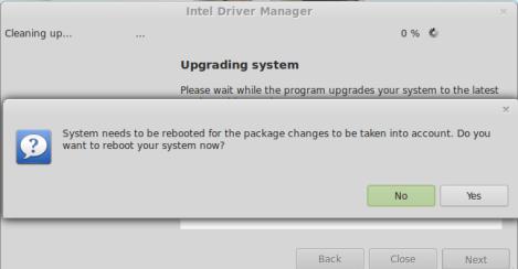 Intel instal linux mint